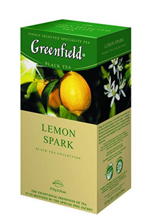 Черный чай Greenfield Lemon Spark 25 пак оптом