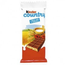 Шоколад молочный Kinder Country 23.5г оптом
