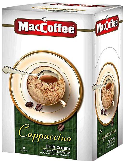 Кофе растворимый MacCoffee Irish Cream 10x25г оптом
